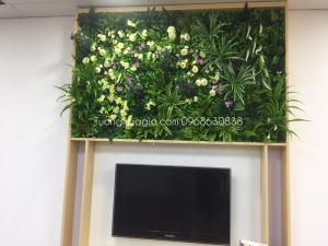 Tường cây giả - Tường cỏ giả